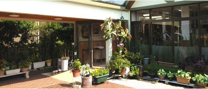 岡山の美容室、わたなべ美容室の外観1